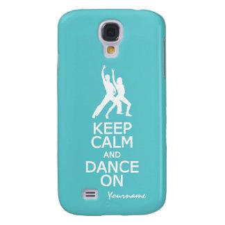 Keep Calm & Dance On custom color cases