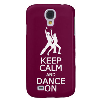 Keep Calm & Dance On custom color HTC case