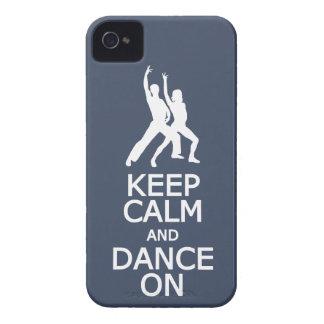 Keep Calm & Dance On custom color iPhone case-mate
