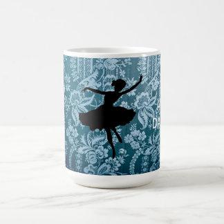 Keep Calm & Dance Vintage Ballerina Mug