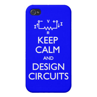 Keep Calm Design Circuits Case For The iPhone 4