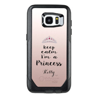Keep Calm Diamonds Tiara Samsung Galaxy S7