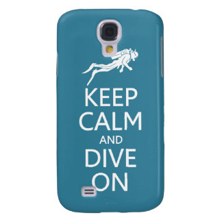 Keep Calm & Dive On custom color HTC case