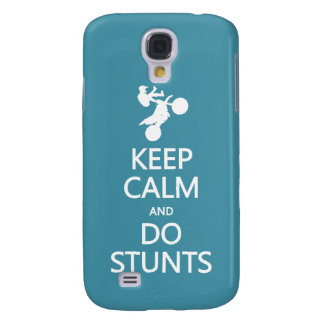 Keep Calm & Do Stunts custom color HTC case
