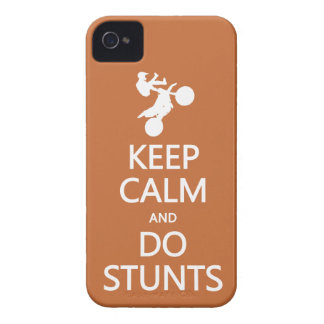 Keep Calm & Do Stunts custom color iPhone case-mat iPhone 4 Covers