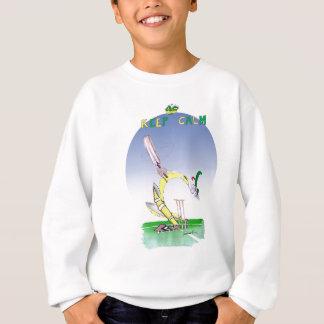 keep calm + don't loose your head, tony fernandes sweatshirt