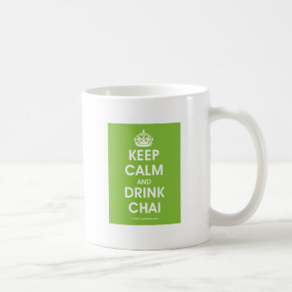 Keep Calm & Drink Chai by Lovedesh.com Coffee Mug