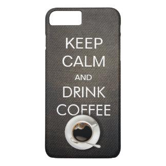 Keep Calm & Drink Coffee iPhone 7 Plus Case