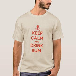 Keep Calm & Drink Rum T-Shirt