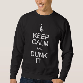 Keep Calm & Dunk It shirt - choose style, color