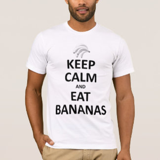 Keep calm eat bananas T-Shirt