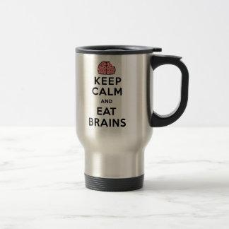 Keep Calm Eat Brains Mugs