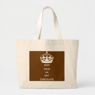 KEEP CALM  EAT  CHOCOLATE BAGS