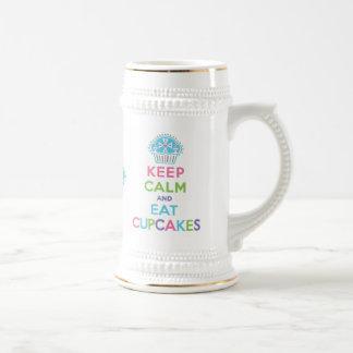 Keep Calm Eat Cupcakes - Stein Mug