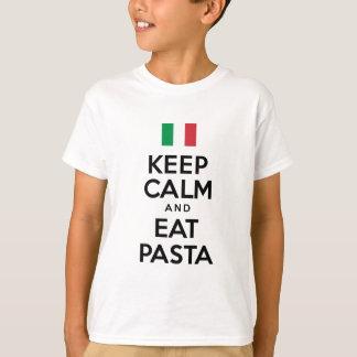 Keep Calm Eat Pasta T-Shirt
