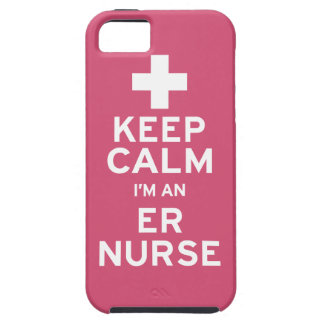Keep Calm ER Nurse iPhone 5 Cases