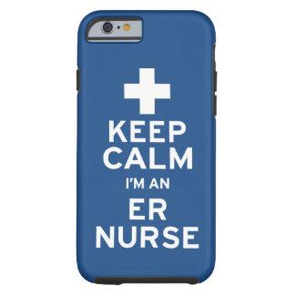 Keep Calm ER Nurse Tough iPhone 6 Case