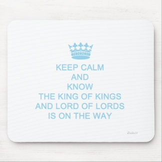 Keep Calm Faith and Motivational Mouse Pad