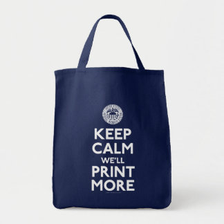Keep Calm Federal Reserve Parody Bags
