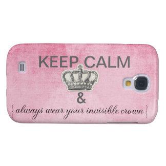 keep calm galaxy s4 case