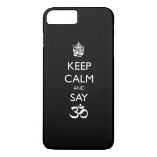 keep calm ganesh iPhone 7 plus case