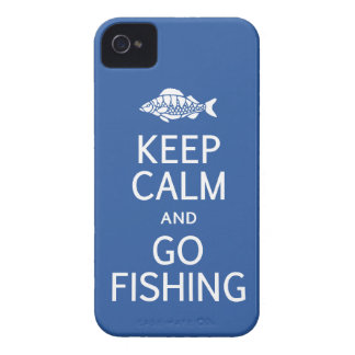 Keep Calm & Go Fishing Blackberry Bold case
