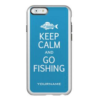 Keep Calm & Go Fishing custom color cases