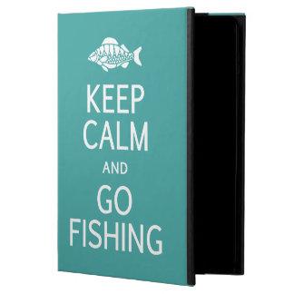 Keep Calm & Go Fishing custom color cases iPad Air Cover