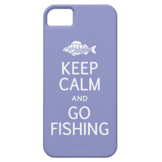Keep Calm & Go Fishing custom color iPhone case