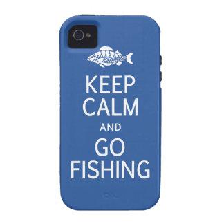 Keep Calm & Go Fishing iPhone 4 case-mate