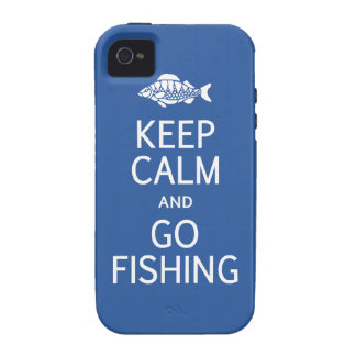 Keep Calm & Go Fishing iPhone 4 case-mate iPhone 4 Cover