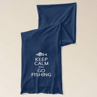Keep Calm & Go Fishing scarfs Scarf