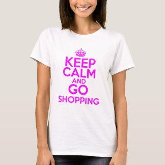 Keep Calm & Go Shopping T-Shirt