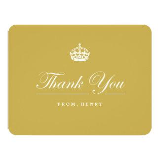 Keep Calm Gold 60th Birthday Party Thank You Card 11 Cm X 14 Cm Invitation Card