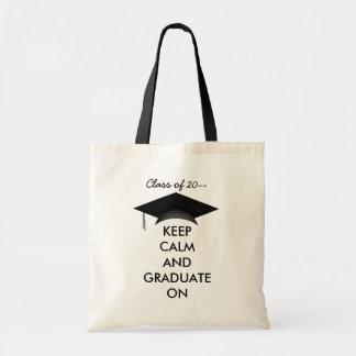 Keep calm graduate on
