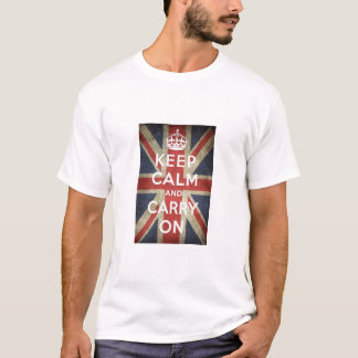 Keep Calm Great Britain t-shirt