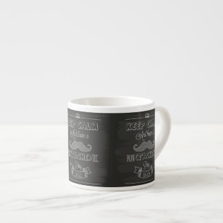Keep Calm Happy Father's Day Espresso Cup