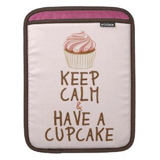 Keep Calm & Have a Cupcake iPad Sleeve