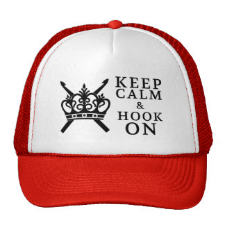 Keep Calm Hook On Cap