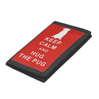 KEEP CALM HUG THE PUG WALLET BIRTHDAY CHRISTMAS