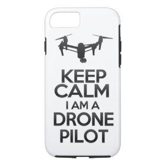 Keep Calm I a.m. Drone Pilot iPhone 8/7 Case