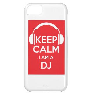 Keep calm I am a DJ iPhone 5C Case