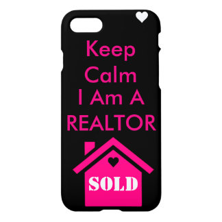 Keep calm I am a Realtor iPhone 8/7 Case