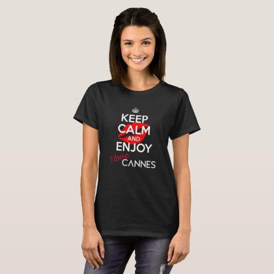Keep Calm I Love Cannes version 3 (Women)