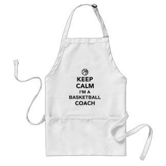 Keep calm I'm a basketball coach Standard Apron