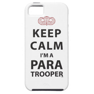 KEEP CALM I M A PARATROOPER iPhone 5/5S CASES