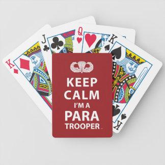 Keep Calm I m A Paratrooper Poker Deck