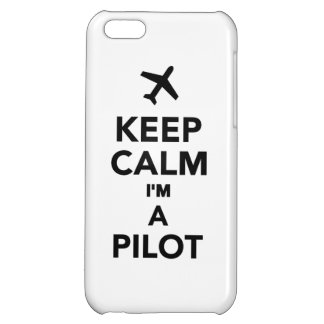 Keep calm I m a Pilot iPhone 5C Case