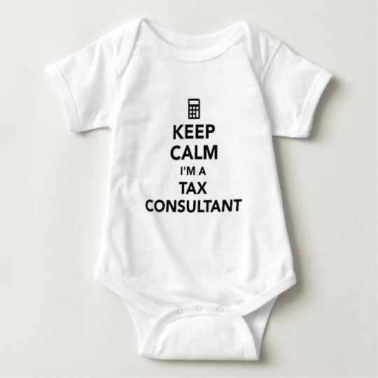 Keep calm I'm a tax consultant Baby Bodysuit