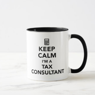 Keep calm I'm a tax consultant Mug